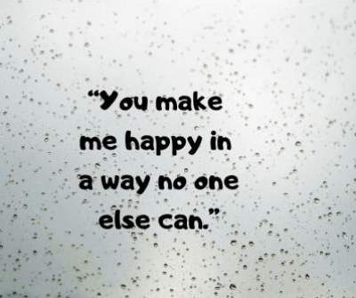 you make me happy status quotes