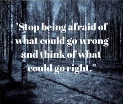 afraid status quotes for fb and whatsapp
