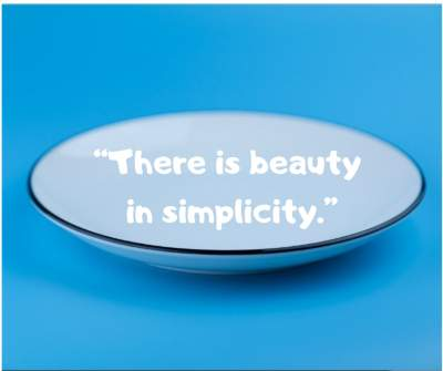 status quotes on beauty in simplicity for whatsapp and fb
