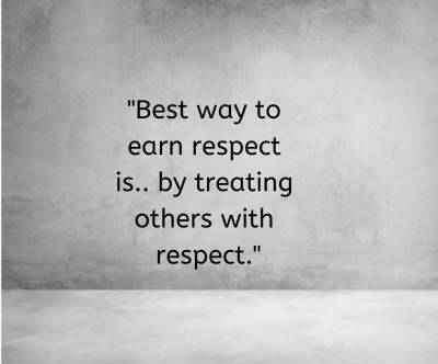 best respect status quotes for fb and whatsapp