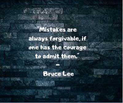bruce lee quotes on forgiveness