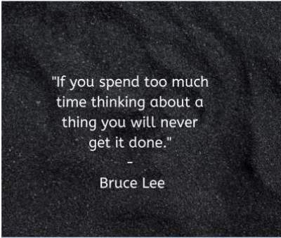 bruce lee quotes thinking