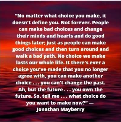 choice status quotes