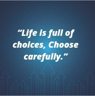 status quotes on choices in life