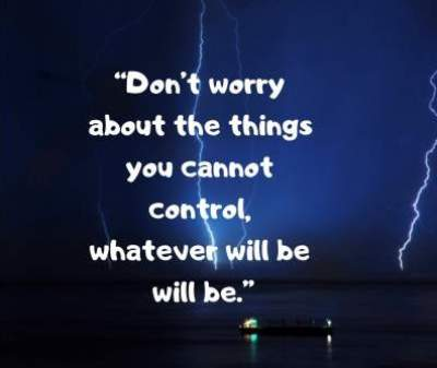 status quotes on don't worry for fb and whatsapp