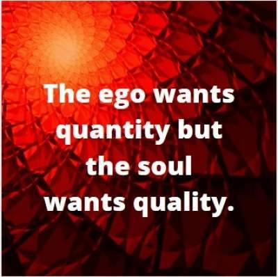 Staus quotes on ego vs soul