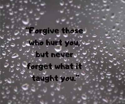 forgive hurt status