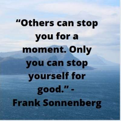 good inspirational quotes by Frank Sonnenberg