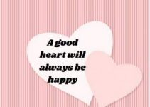happy and good heart status