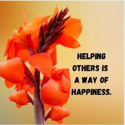 helping for happiness status quotes