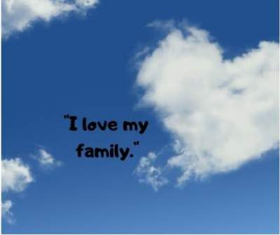i love my family dp with quotes