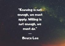 inspirational quotes by bruce lee