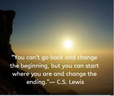 inspirational quotes on change by C.S. Lewis