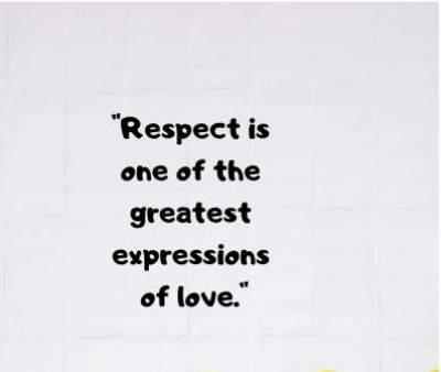 love respect status quotes