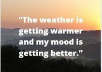 status quotes on mood getting better