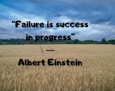 motivational quotes on failure and success