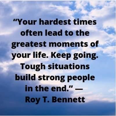 motivational quotes on hardship