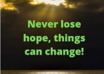 never lose hope quotes for whatsapp status