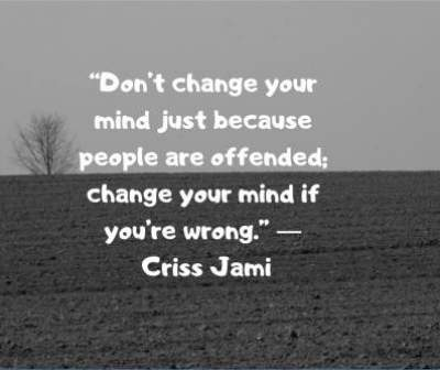 quotes on changing your mind