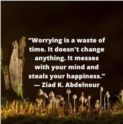 quotes on worrying for whatsapp status