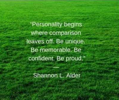 Compare quotes for status by Shannon L. Alder