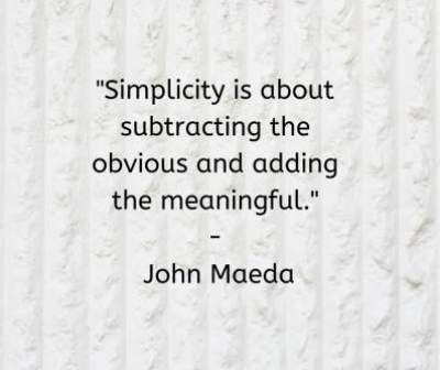 status quotes on what is simplicity in life