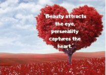 status quotes on heart and beauty
