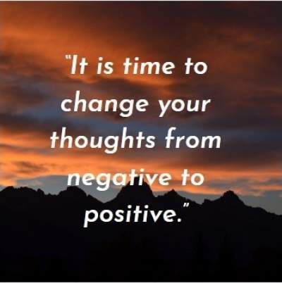 change thoughts in positive ways
