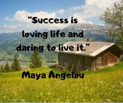 daring life status quotes by maya angelou