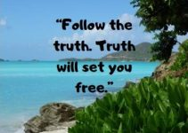 follow the truth status quotes for fb and whatsapp