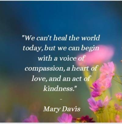 positive quotes on healing the world
