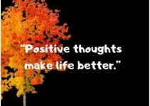 positive thoughts about life