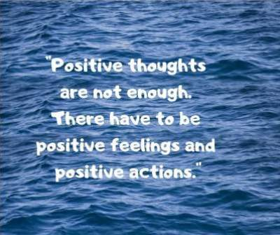 inspirational quotes on positive thoughts