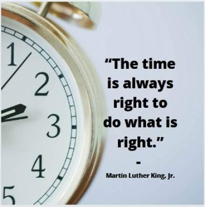 right time quotes by Martin Luther King, Jr.