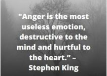 anger emotion status quotes
