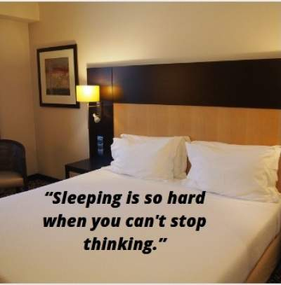 can't sleep status quotes
