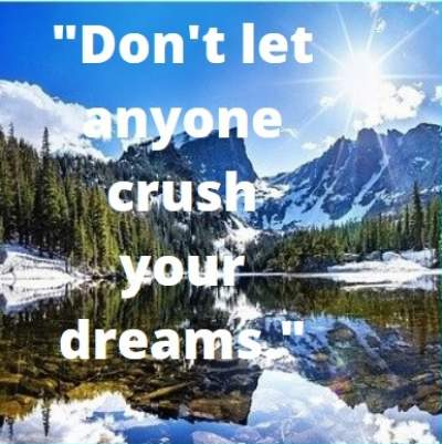 dream status with quotes
