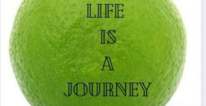 life caption on journey