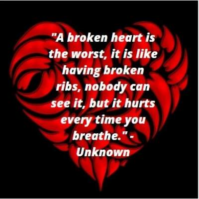 status dp on broken heart for whatsapp