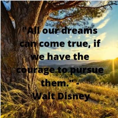 status on dreams come true with quotes