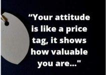 attitude value status quotes