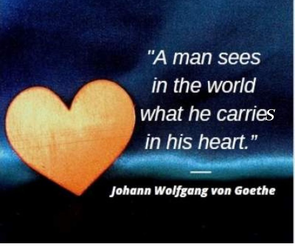 heart quotes by Goethe