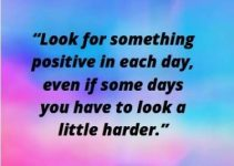 look for positive quotes