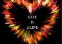love is blind status for whatsapp