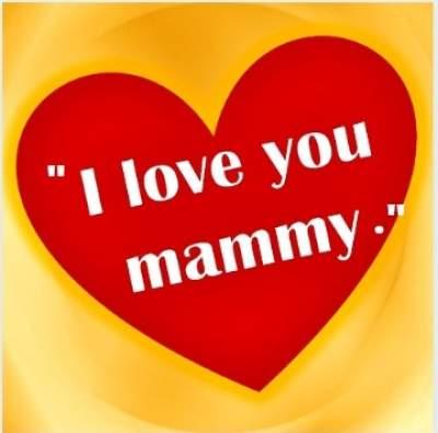 i love you mummy dp status