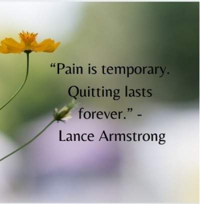 motivational status quotes on pain