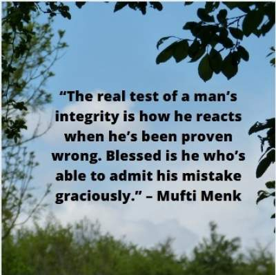 positive quotes by mufti menk