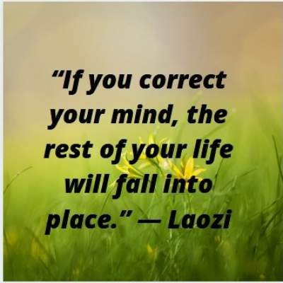 positive quotes on mind by Laozi