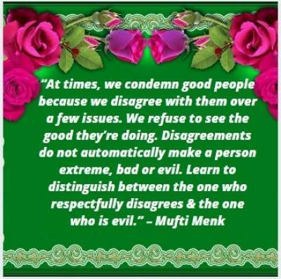 quotes on good people by Mufti Menk
