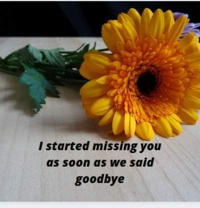 started missing you status quotes